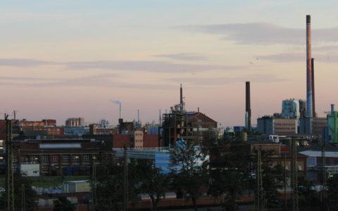 Chemieunternehmen als Erzeuger von kontaminiertem Löschwasser